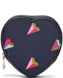 Fossil Heart coin purse