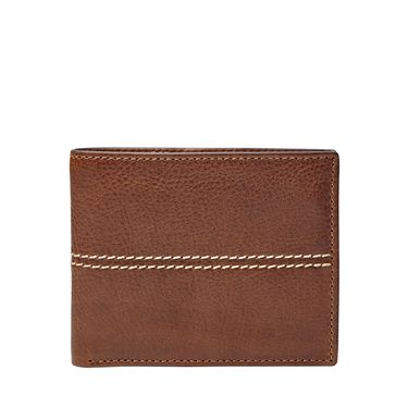 Fossil Turk rfidblocking flip id bifold Dark Brown
