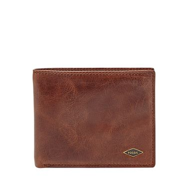 Fossil Ryan rfidblocking flip id bifold Dark Brown