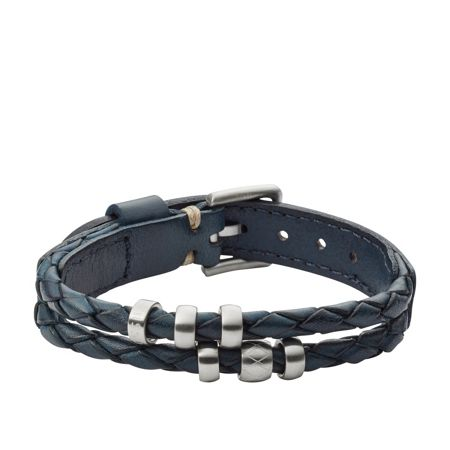 Fossil Jf02346040 mens leather bracelet