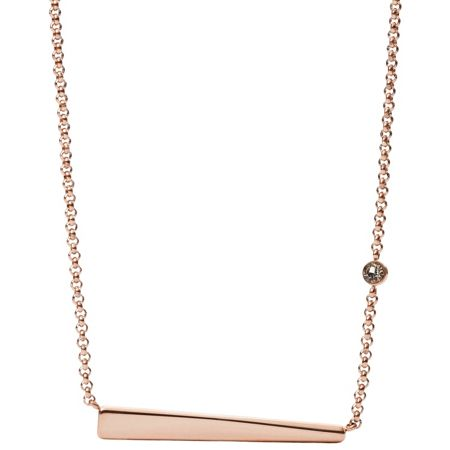Fossil Jf02309791 ladies necklace