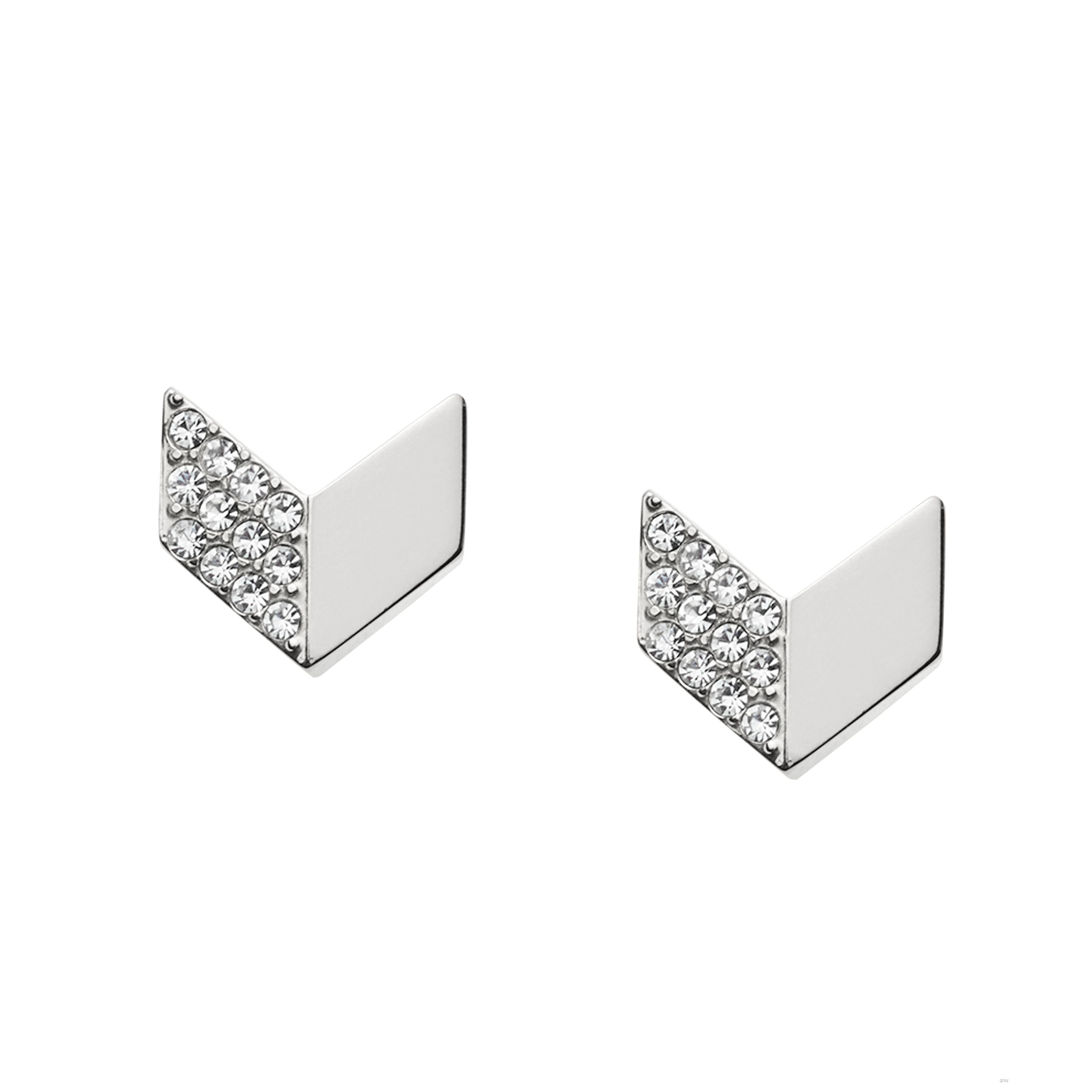 fossil jf02422040 ladies earring studs
