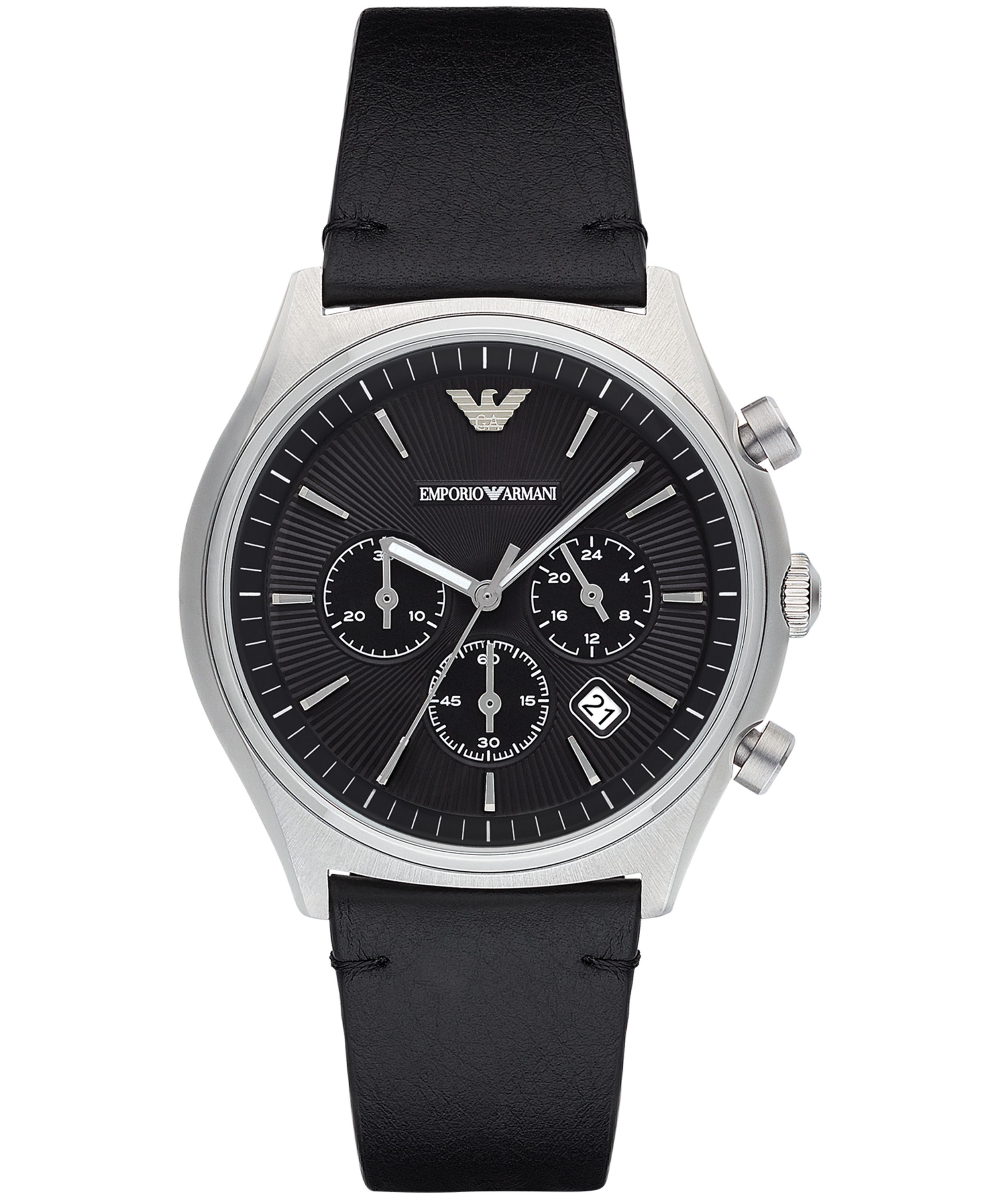 emporio armani leather mens house of fraser