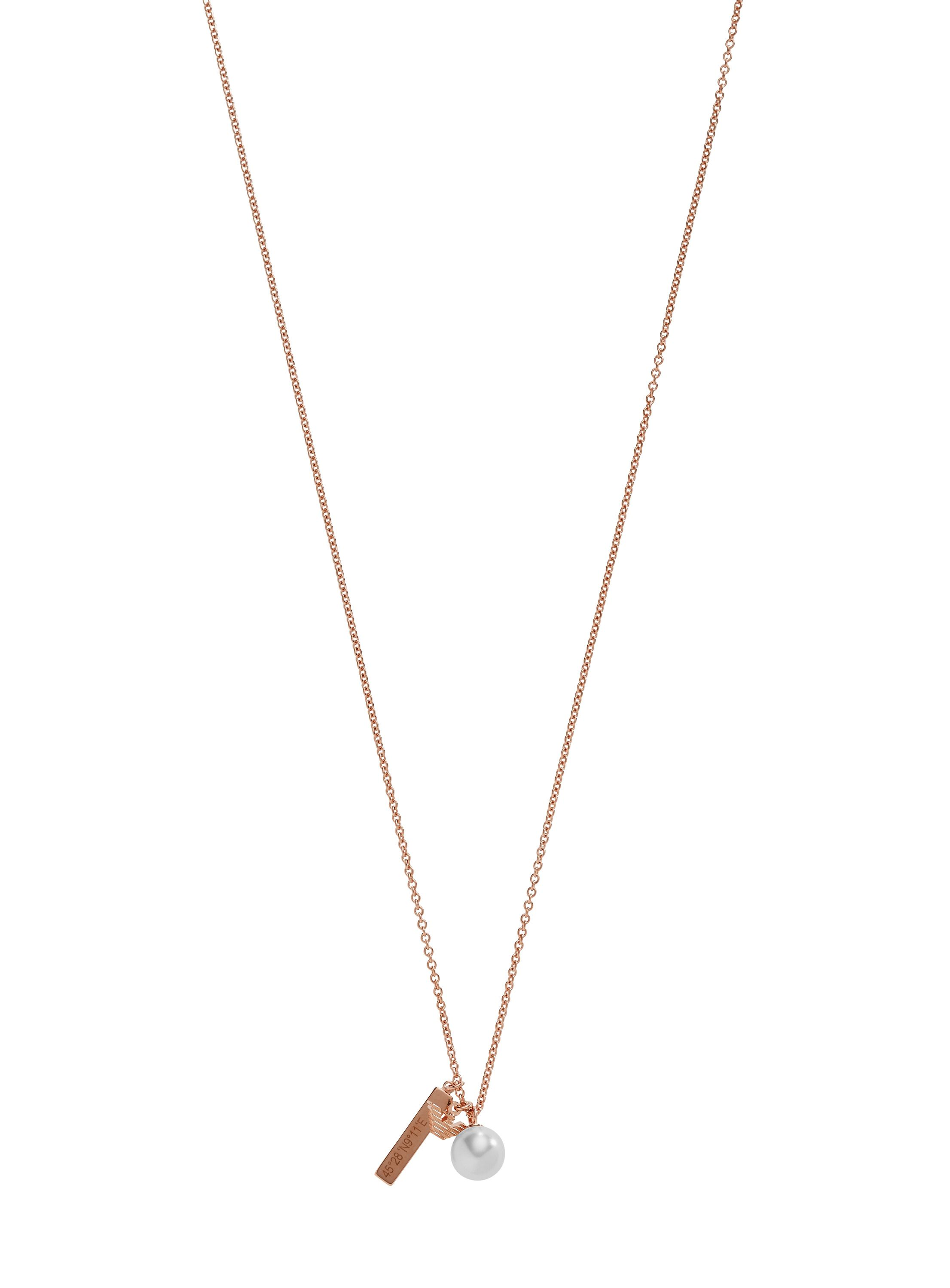 Emporio Armani EG3313221 ladies necklace Rose Gold