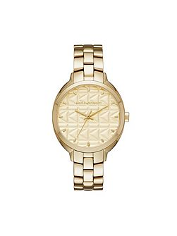 KL4605 gold tone ladies watch