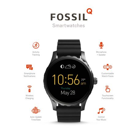 Fossil Q FTW2107 mens strap watch
