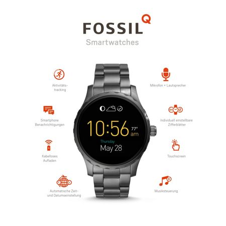 Fossil Q FTW2108 mens bracelet watch