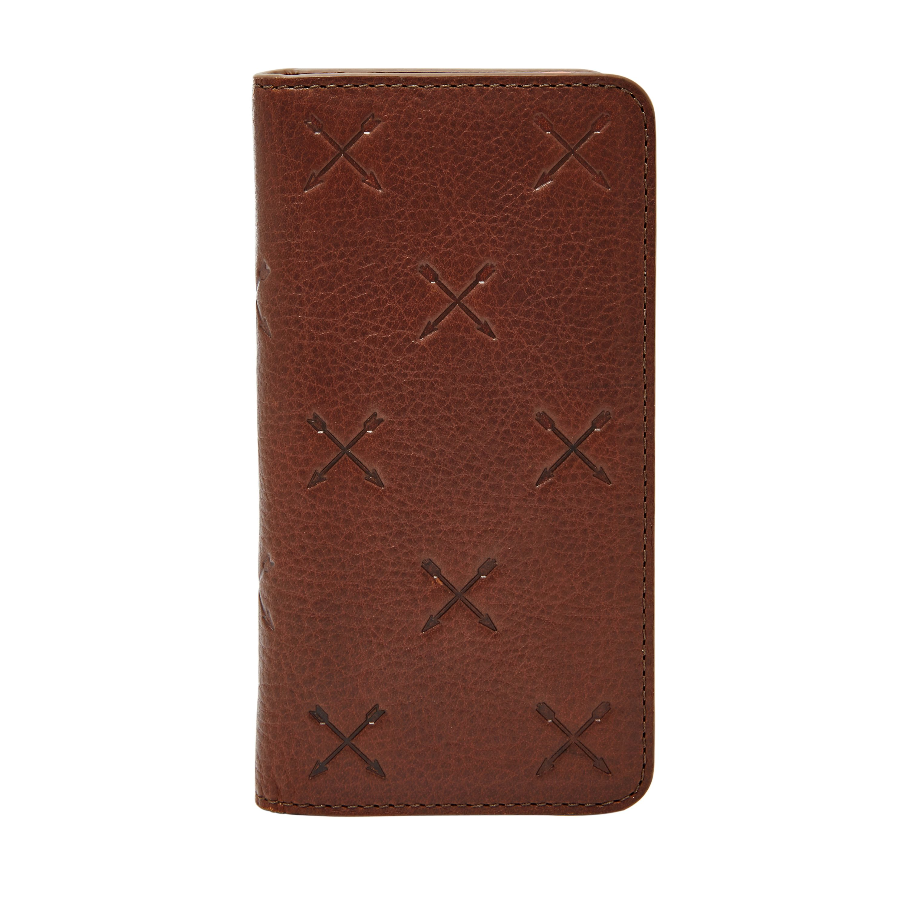 Fossil MLG0406200 iPhone 6 wallet Brown