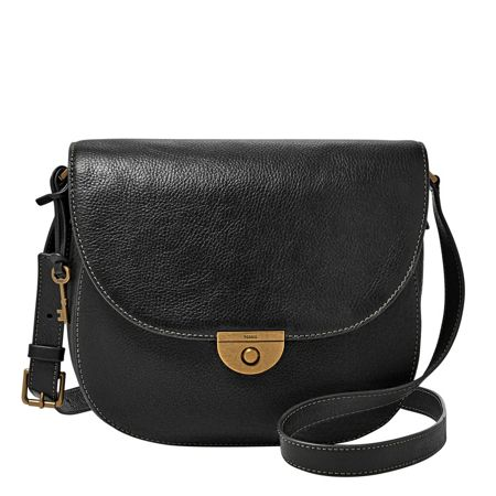 Fossil ZB6888001 emi large saddle bag