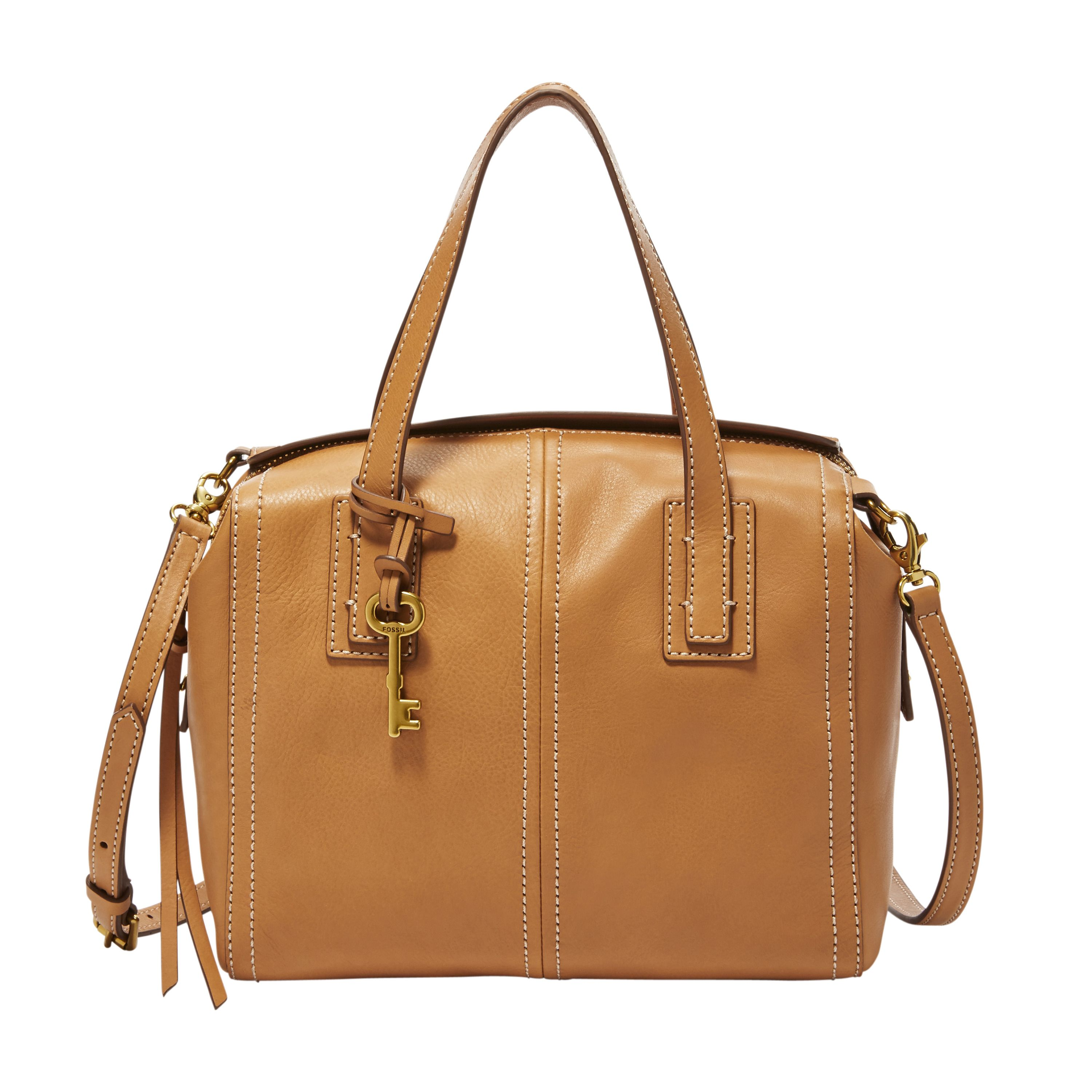 Fossil ZB6847231 emma satchel Brown