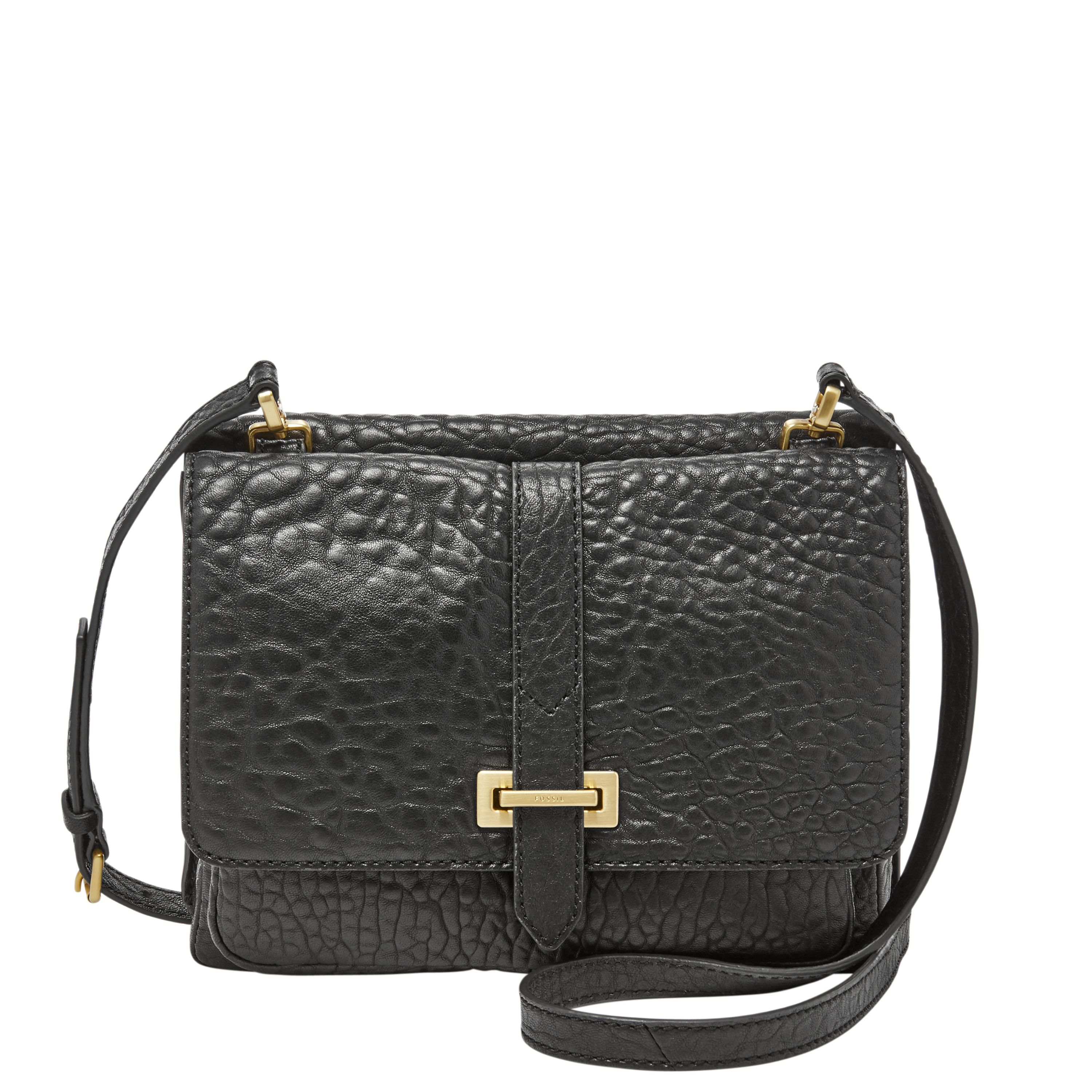 Fossil ZB6861001 maddie small crossbody Black