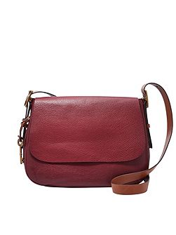 ZB6760609 ladies large saddle crossbody
