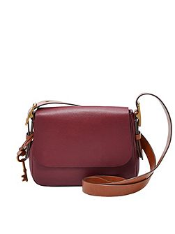 ZB6759609 ladies small saddle crossbody