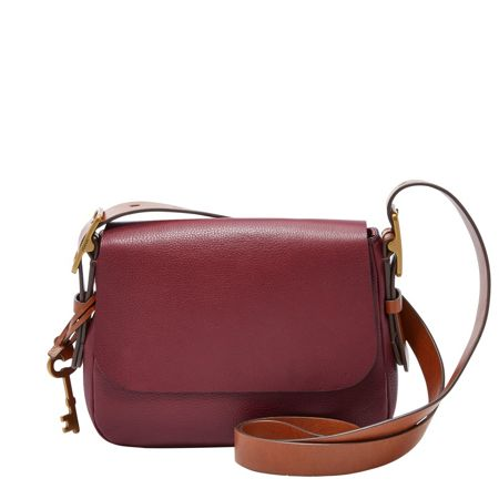 Fossil ZB6759609 ladies small saddle crossbody