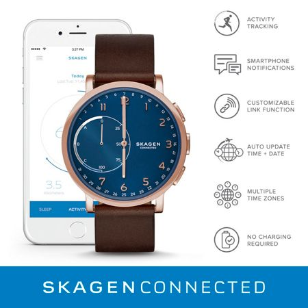 Skagen SKT1103 Mens Bracelet Smart Watch