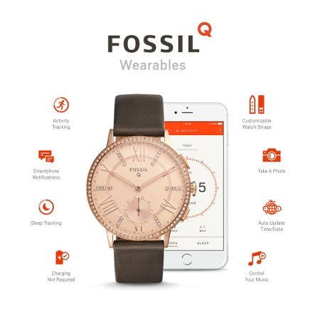 Fossil Q FTW1116 ladies strat watch