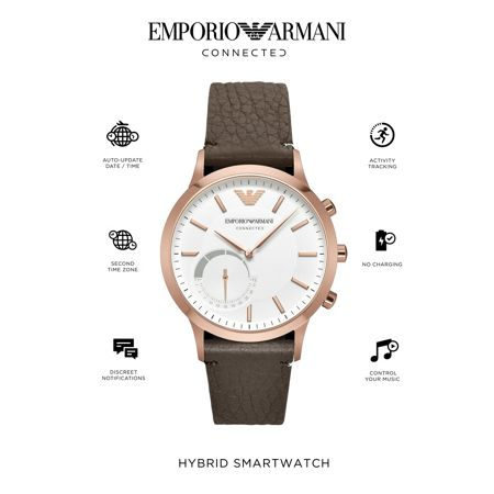 Emporio Armani Connected ART3002 Mens Strap Smart Watch