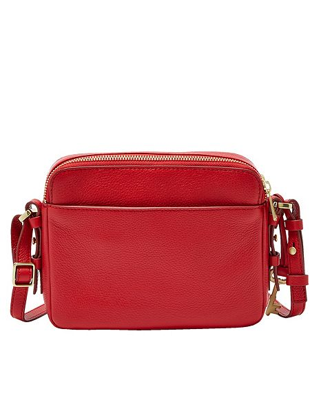 Fossil Zb6865933 Piper Toaster Crossbody Bag Red House