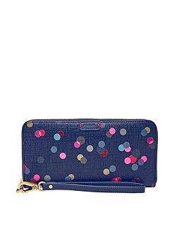 SL7173400 Emma RFID Large Zip Clutch
