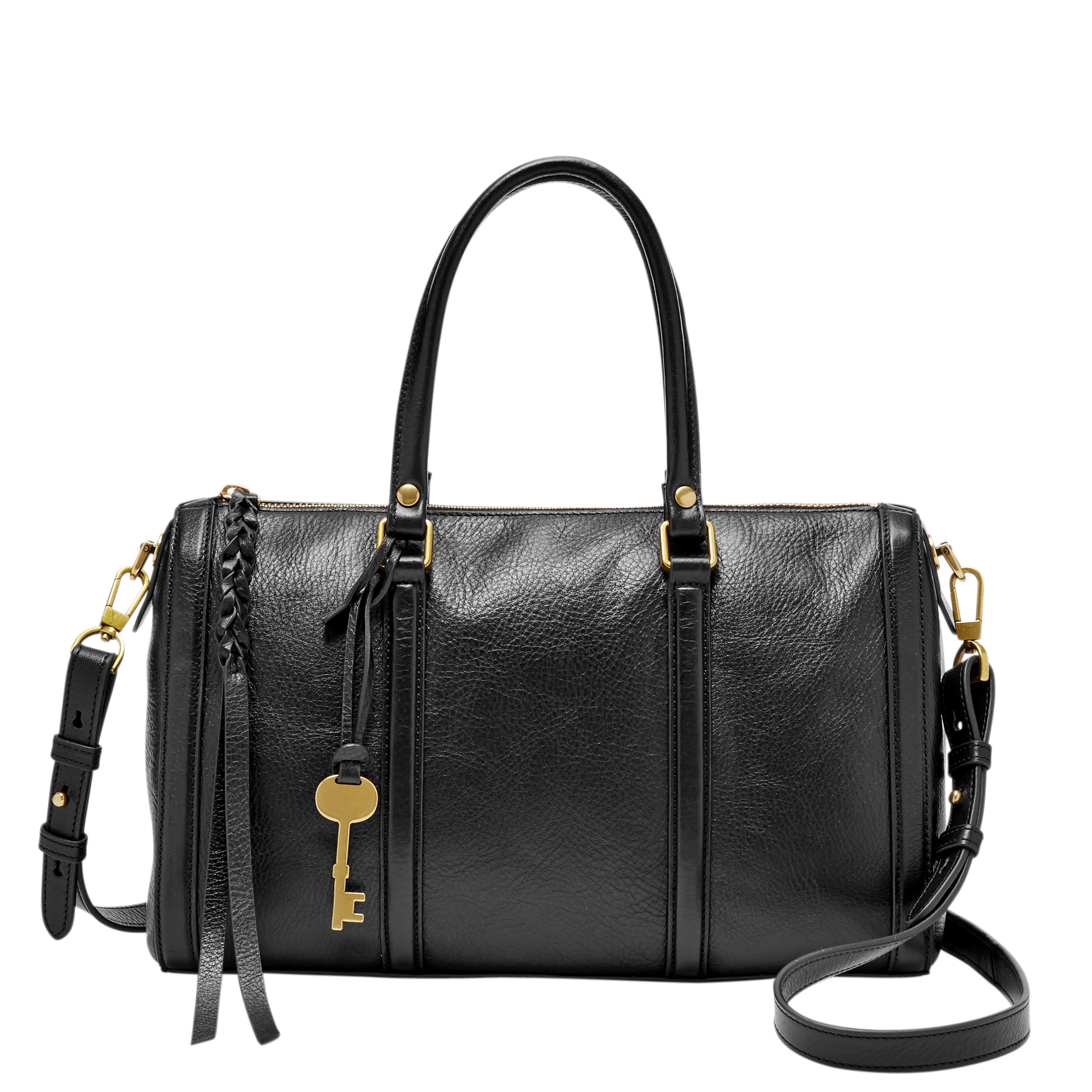 Fossil ZB7108001 Ladies Crossbody Bag Black
