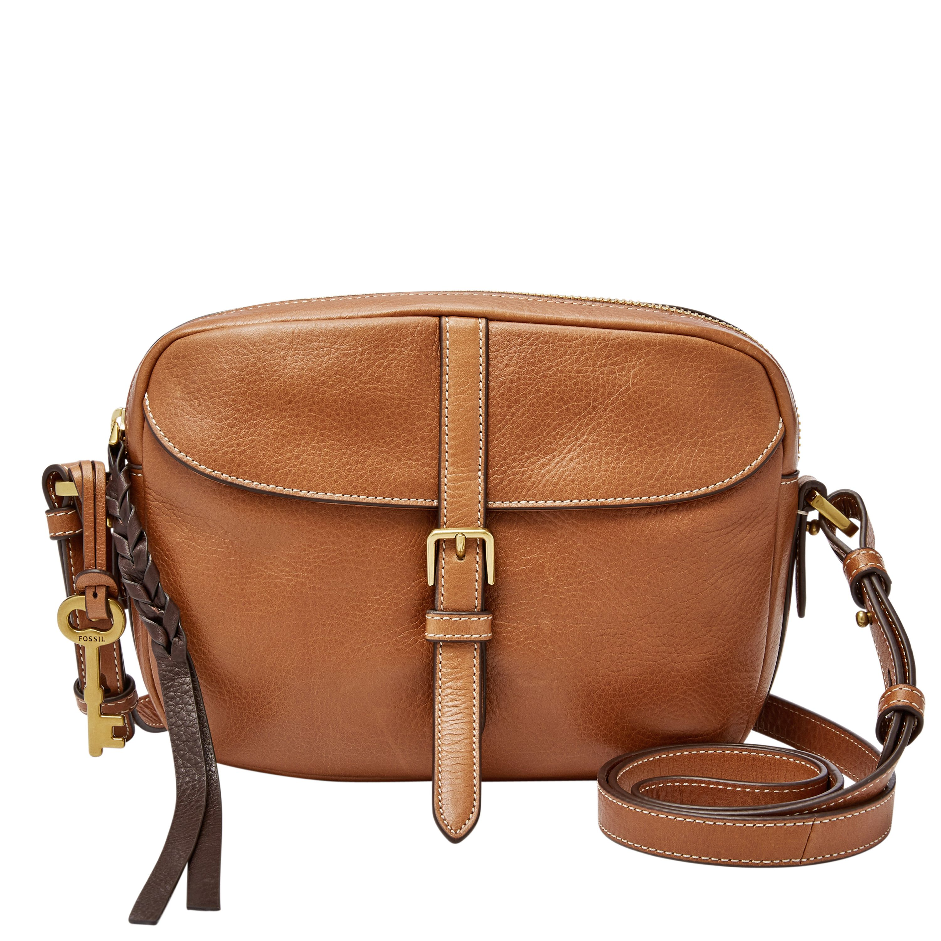 Fossil ZB7112484 Ladies Crossbody Bag Brown
