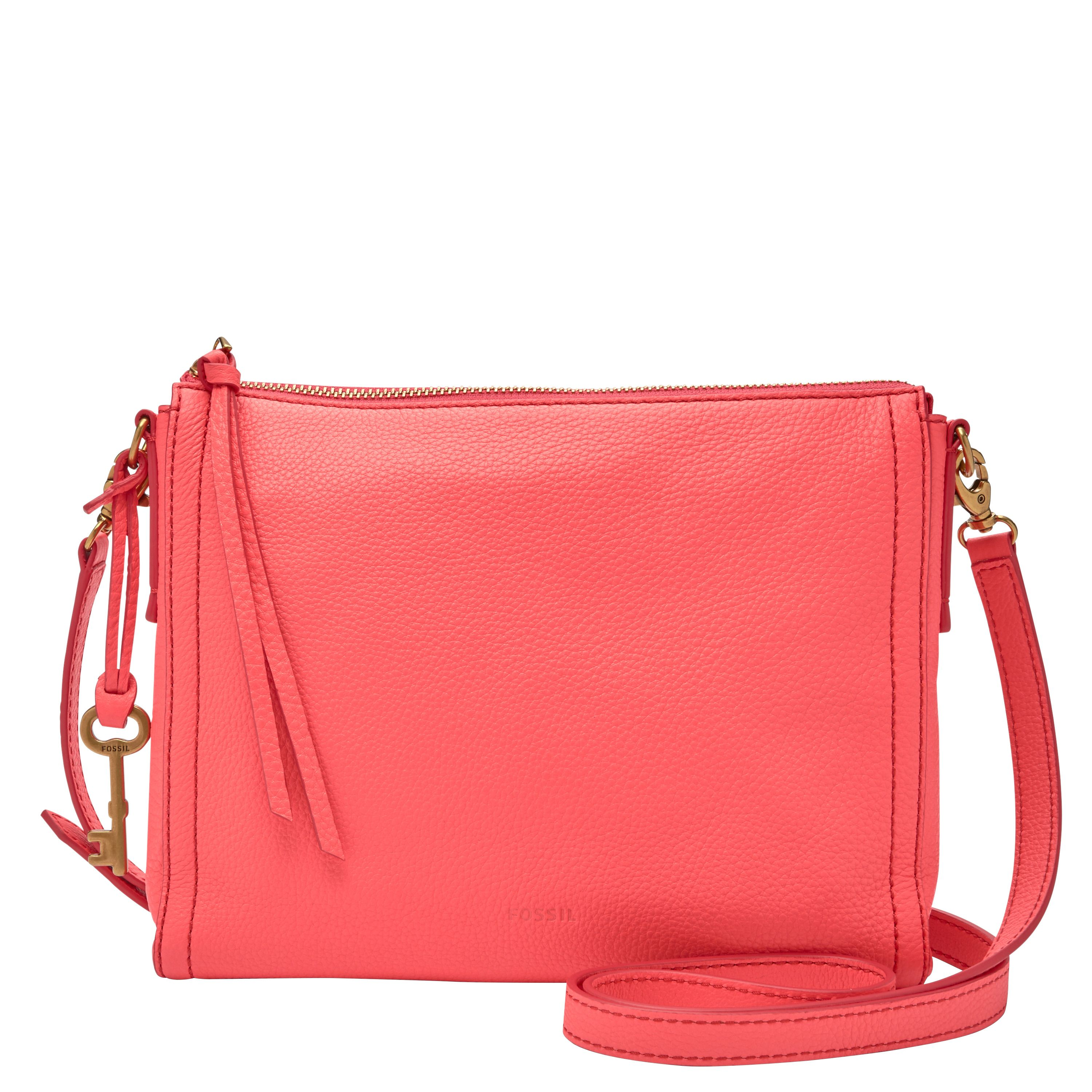 Fossil ZB7130475 Ladies Crossbody Bag Pink