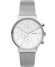 Skagen SKW6361 mens mesh bracelet watch