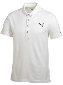 Lux pattern polo shirt