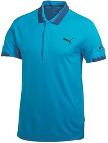 Lux solid polo shirt