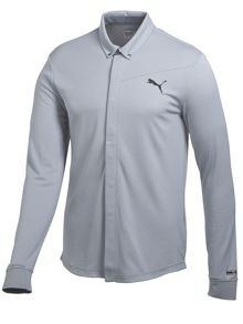 Puma Sportlux Lux long sleeved polo shirt