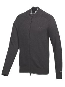 Lux full zip sweater