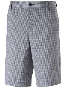 Plaid Tech Shorts