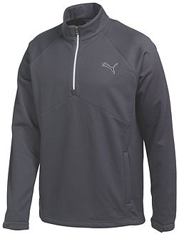Warm Storm Plain Half Zip Neck Zip Fastening