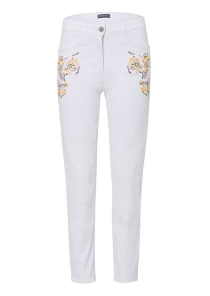 Basler Julienne Jeans with Embroidery Detail