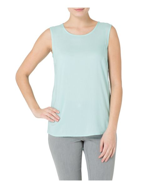 Basler Long Line Shell Top