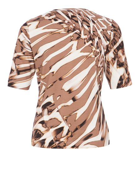 Basler Animal print jersey T-shirt