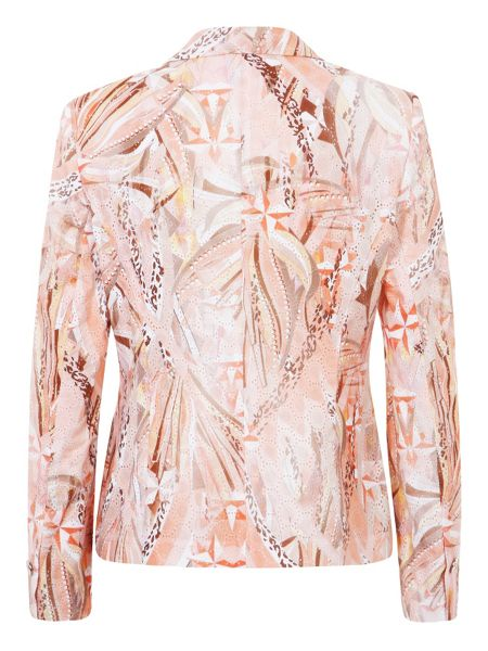 Basler Abstract print blazer