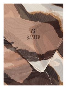 Basler Animal print silk scarf