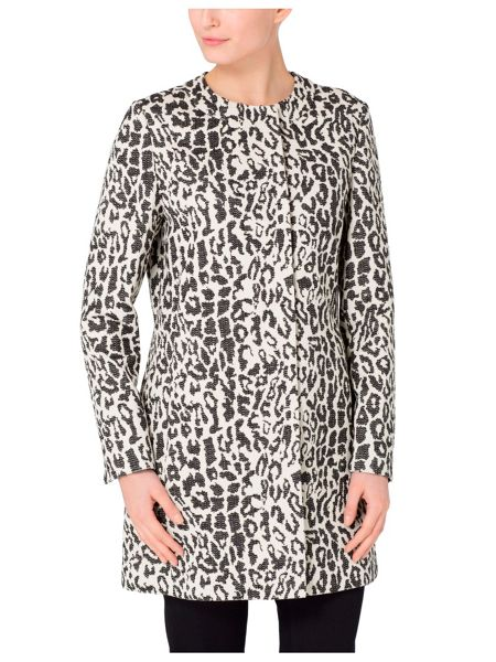 Basler Animal Print Coat