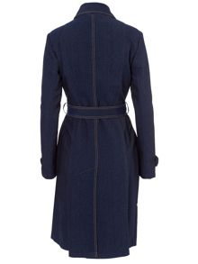 Basler Denim Trench Coat