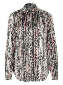 Basler Abstract Print  Blouse