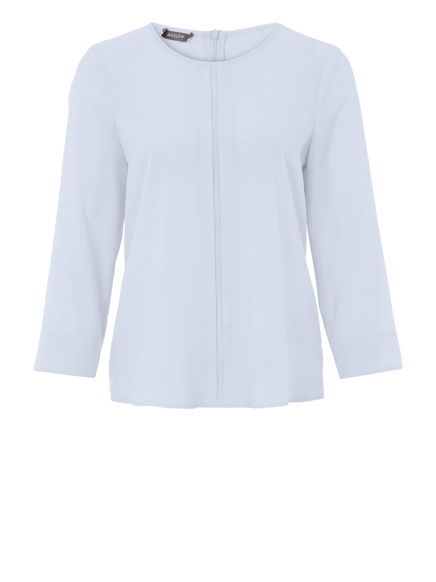 Basler Basler Blouse With Detail Down The Front, Blue