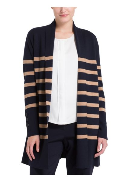 Basler Wool Long Line Cardigan