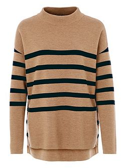 Roll Neck Wool Sweater