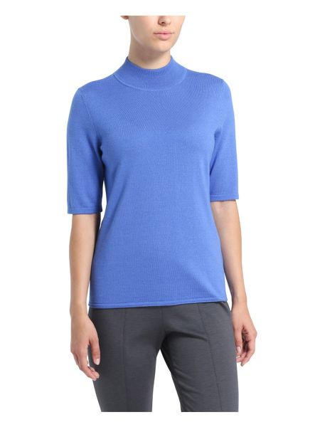 Basler Short Sleeve Roll Neck