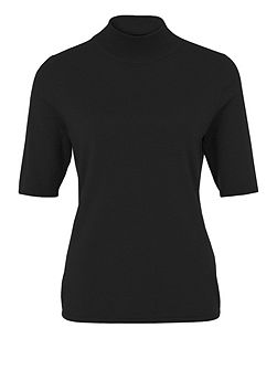 Short Sleeve Roll Neck