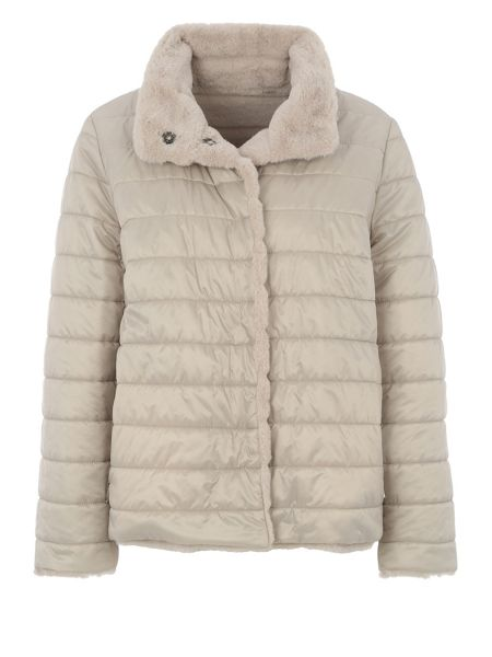 Basler Reversible Faux Fur Jacket