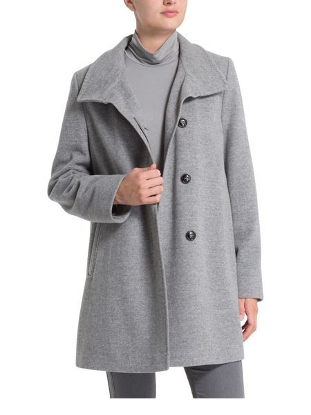 Basler Classic Coat With Cashmere