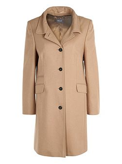 Tailored Coat With Cashmere