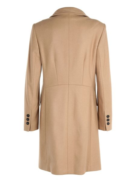 Basler Tailored Coat With Cashmere